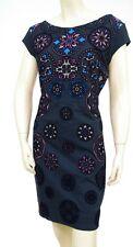 Desigual robe motifs VEST SOFIA femme 18WWVKAA strech coloris 5075 bleu marine