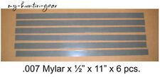 Mylar Reeds for Duck Goose Turkey Deer Calls .007 x 1/2