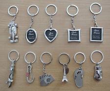 Gift Novelty Steel Alloy Keychain Ring Keyring Pendant Key Fob Funny photo frame