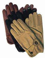 Scippis Leder Handschuhe für Biker, Reiter und Outdoorfans NEU
