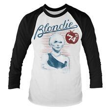 Blondie 'Apple 74' Baseball T shirt - NEW