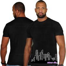 "UNDERGROUND Kulture ""Horizonte"" Corto Mangas Camiseta negra"