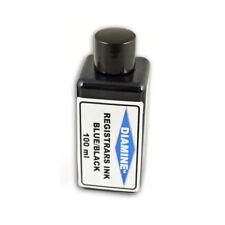 Diamine Registrar Ink Bottle Blue/Black 30ml & 100ml Available