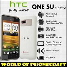 "Original Unlocked HTC One SU T528w GPS WiFi 3G 5MP 4.3"" Dual SIM Dual Core Phone"