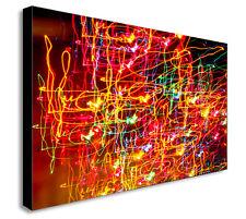 NEON Lights astratta moderna a muro art print. varie Taglie