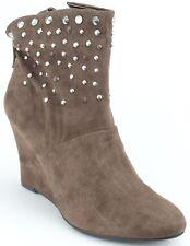 New KATHY VAN ZEELAND  suede  Sara women's  ankle  boots size 8 $120