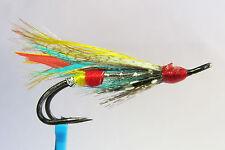 1x mouche Saumon SILVER DOCTOR DOUBLE hook salmon fly steelhead hairwing fliegen