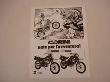 advertising Pubblicità 1983 MORINI KANGURO/CAMEL 500