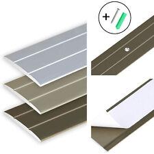 /Übergangsprofil flach//gelocht; 37mm//100cm Alu eloxiert gold