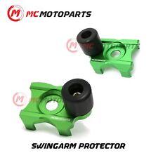 CNC Swingarm Protectors Axle Block Sliders For Kawasaki Z250 2014-2018