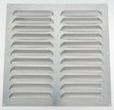 Wetterschutzgitter Aluminium  Weiß Lüftungsgitter Abluftgitter Insektenschutz