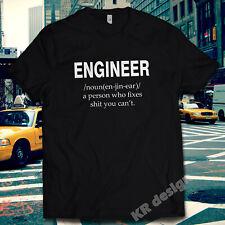 NOUN - ENGINEER Tshirt Funny Joke Rude T shirt Birthday Gift Present Builder
