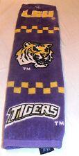 Vintage Lsu Tigers Golf Towel Used