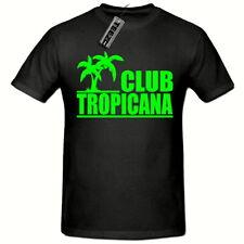 Club Tropicana 80's T-Shirt,(green logo) Men's Ladies Tee Shirt Fancy Dress 80's