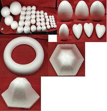 Christmas Polyshapes - styrofoam shapes for decoration