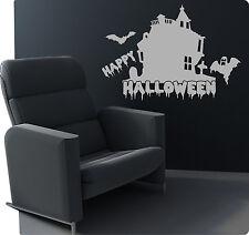 Halloween Geisterhaus Deko Wandtattoo Wandaufkleber Aufkleber Sticker Geist Hexe