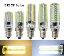 E12 Candelabra Base C7 64/80/104/152 3014/4014 SMD LED Ceiling fan Light Bulb