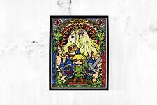 The Legend of Zelda Print Poster Wall Art A4 Snes Nintendo Link Gaming -1684