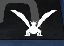 Medievil Era Mythology - Detailed Dragon Front -  Car Tablet Vinyl Decal