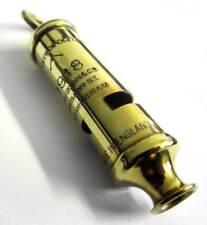 WW1 Trench Whistle Brass British Army RFC RAF WWI British US 1914 -1918 Hudson