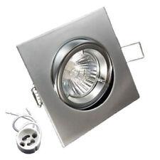 Einbaustrahler KW50 schwenkbar Eisen Einbauspot LED Halogen Fassung GU10 G5,3