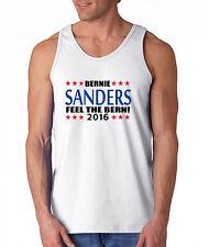 "Bernie Sanders Democrat president 2016 ""Feel The Bern"" shirt TANK-TOP"
