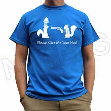Banksy Give Me Your Nut Funny Graffiti Men's Ladies Kid T-Shirt Vest S-XXL
