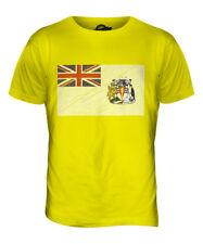 Bandera británica garabato de territorio antártico para hombres Camiseta Camiseta Top Camisa de giftfootball