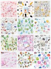 46Pcs/pack Cartoon Unicorn Animals Kawaii Stationery DIY Scrapbooking Stickers