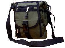 Da Uomo Militare Combat Esercito TRAVEL SHOULDER BAG surplus Messenger Fotocamera ZIP POUCH