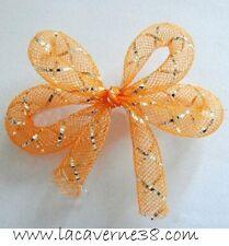 Tube Résille Tubulaire fil lurex argent 4 mm création bijoux collier bracelet