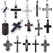 Kreuz Halskette Kette Anhänger Panzerkette Kreuzhalskette Kreuzkette Jesus