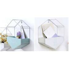 Cesta de flores de hierro forjado creativo de viento nordico cesta de almace PB