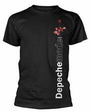 Depeche Mode Camiseta violador lado Rose Oficial Camiseta Negra Para Hombres Rock Clásico Nuevo