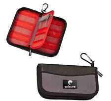 Unicorn Pro Maxi Large Black Darts Case / Wallet - New Design - 14 Pockets