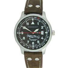 Aristo Herren Messerschmitt Uhr Fliegeruhr Lederband ME-209