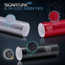 6D Signature New High Gloss Pattern Carbon Fiber Vinyl Wrap Roll Bubble Free Air