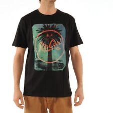 Rip Curl Palmy Tee T-Shirt Shirt Surfwear Männer Schwarz Black bunt CTEHC4 90
