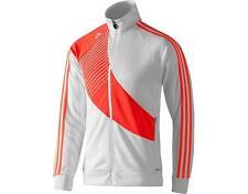 Adidas PREDATOR STYLE Track sweat shirt Jacket football soccer Top firebird~Sz M
