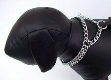 Kettenhalsband 2-reihig Kettenwürger Würger Hundehalsband Zugstopphalsband