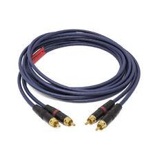 WIREWORLD LUNA 8 Coppia di cavi di segnale terminati custom con RCA Neutrik Rean