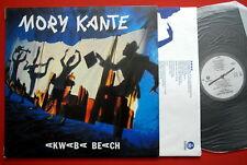 MORY KANTE AKWABA BEACH LATIN ELECTRO EXYUGO LP MINT
