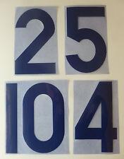 Flock Nummer number número away Trikot jersey shirt Frankreich France 1966