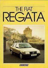 Fiat Regata Saloon & Weekend 1985-86 UK Market Sales Brochure Comfort Super ES