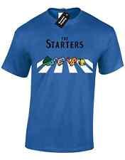 Starters Da Uomo T-Shirt Pokemon Design Pikachu Charmander Squirtle VALOR Mystic