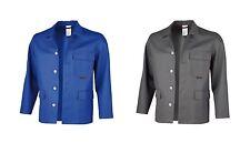 Schweißerjacke Gr.42-64 grau blau Schweißjacke Jacke Schweißer Arbeitsjacke NEU