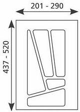 Tiroirs Bac à couverts 201 - 290 mm CAISSON À COUVERTS 30 cm TIROIR multi-30