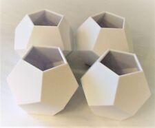 Polyhedron Dodecahedron Desk Organizer Air Plant Planter Vase Modern Geometric
