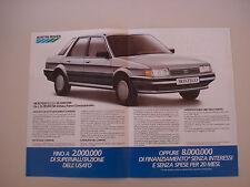 advertising Pubblicità 1986 AUSTIN MONTEGO