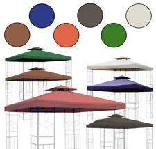 Ersatzdach Pavillon 310g/m² Dach wasserdicht ca. 3x3 PVC wasserfest Pavillondach
